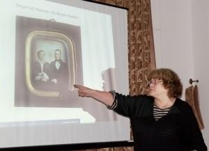 Presentasjon av Daguerreotypiene i Bergen av Solveig Greve